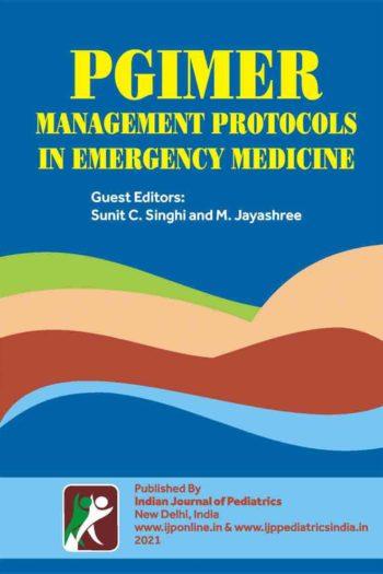 PGIMER MANAGEMENT PROTOCOLS IN EMERGENCY MEDICINE